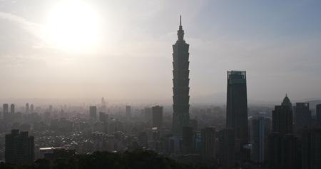 Taipei city, Taiwan, 25 May 2018:- Taipei city