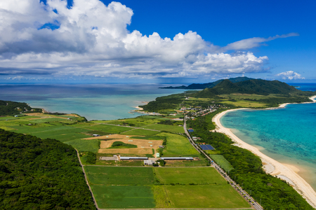 Top view of ishigaki island
