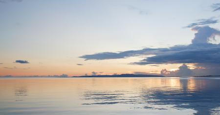 Beautiful sunet and sea in Ishigaki