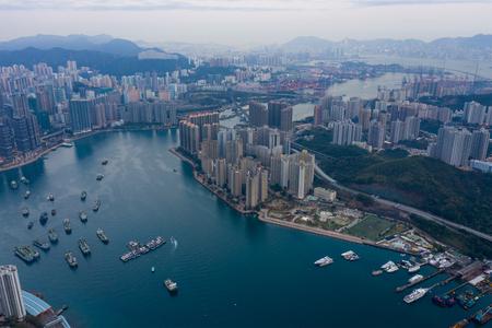 Tsing Yi, Hong Kong, 12 February 2019: Hong Kong city