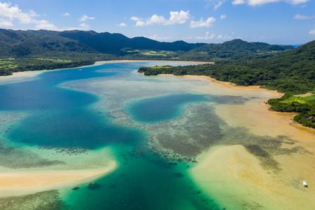 Kabira Bay in ishigaki island 写真素材