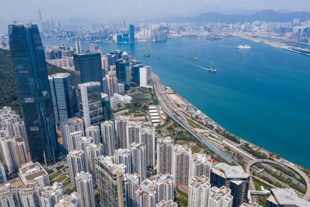 Quarry bay, Hong Kong 19 March 2019: Hong Kong city