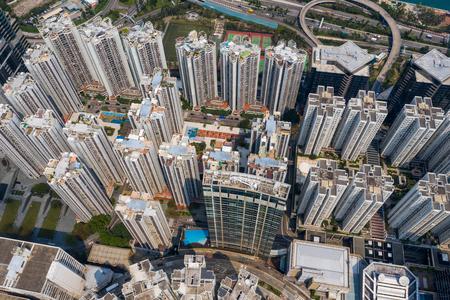 Quarry Bay, Hong Kong, 19 March 2019: Hong Kong residential district Zdjęcie Seryjne