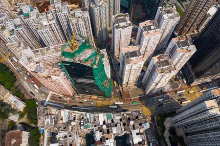 Tai Koo, Hong Kong 19 March 2019: Hong Kong downtown Zdjęcie Seryjne