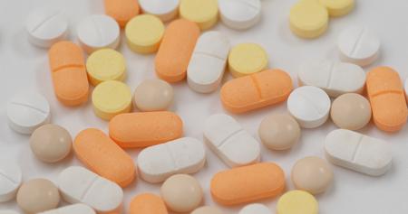 Stack of medicine