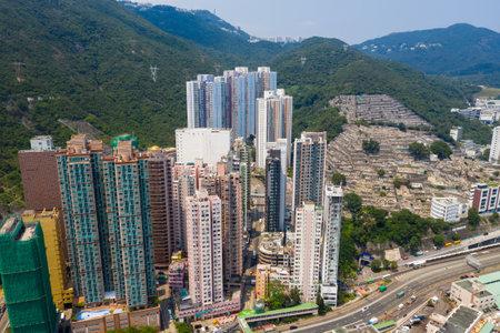 Aberdeen, Hong Kong 12 May 2019: Hong Kong harbor port in aberdeen Editorial