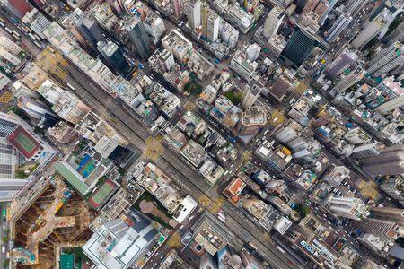 Yau Ma Tei, Aerial view of Hong Kong city