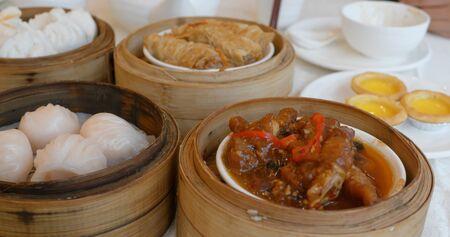 Chinese dim sum in restaurant Reklamní fotografie