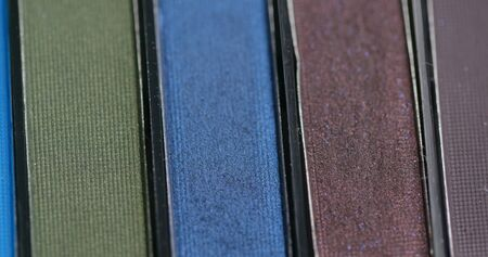 Eye shadow palette for make up Stockfoto