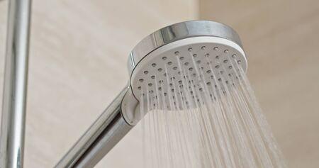 Water flow in the shower head