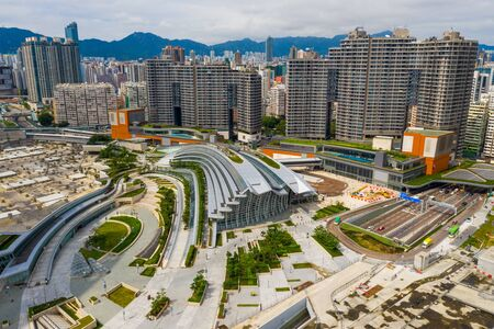 Top view of Kowloon west station