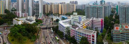Wong Tai Sin, Hong Kong 17 May 2019: Hong Kong city Editorial