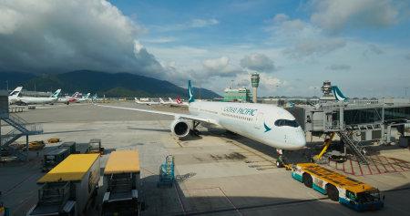 Chek Lap Kok, Hong Kong 29 June 2019: Hong Kong airport