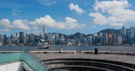 Tsim Sha Tsui, Hong Kong 27 July 2019: Hong Kong city Editöryel