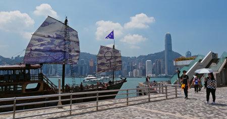 Tsim Sha Tsui, Hong Kong, 07 September 2019: Hong Kong city