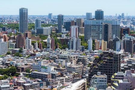 Tokyo, Japan, 26 June 2019: Tokyo city