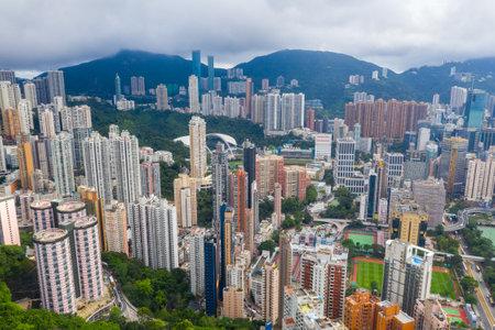 Hong Kong, 01 June 2019: Hong Kong city