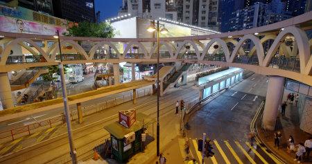 Causeway Bay, Hong Kong 21 May 2019 : Hong Kong street