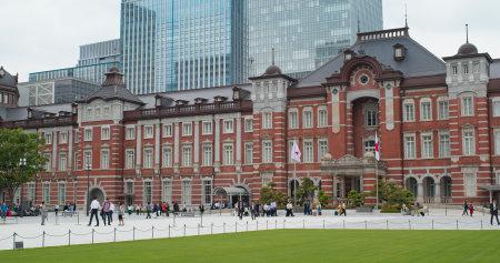 Tokyo, Japan 29 June 2019: Tokyo station