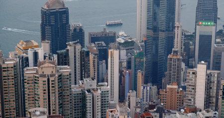 Central, Hong Kong 05 October 2019: Hong Kong city Editöryel