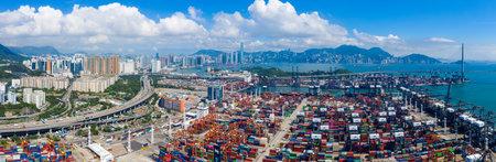 Hong Kong 15 May 2019: Chung Cargo Terminal in Hong Kong