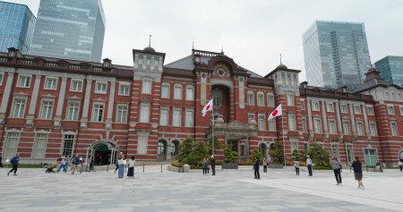 Tokyo, Japan, 29 June 2019: Tokyo station