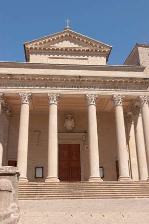 The  Basilica di San Marino  is the main church of the City of San Marino