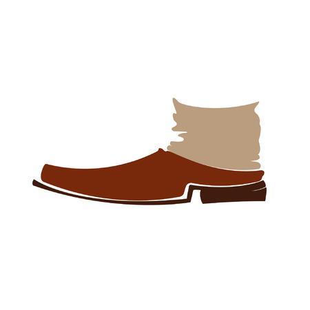High vintage shoes Illustration