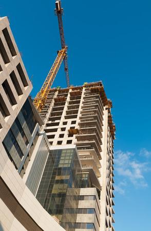 ashdod: construction of high-rise building in Ashdod