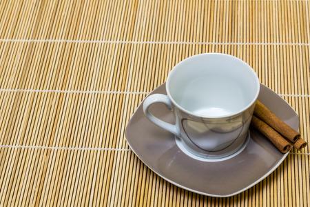 Empty cup before breakfast