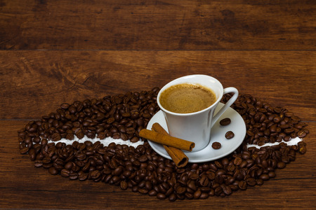 Fresh aromatic coffee to start your morning