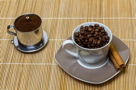 delicious, aromatic power drink for breakfast Standard-Bild