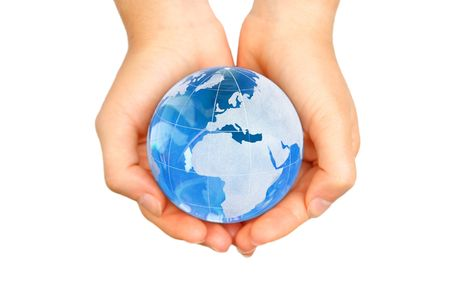World in hands Stock Photo - 7419831