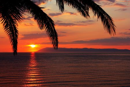 Sunrise on the sea  Stock Photo - 8140530