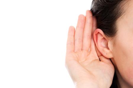 청각 장애인 여자