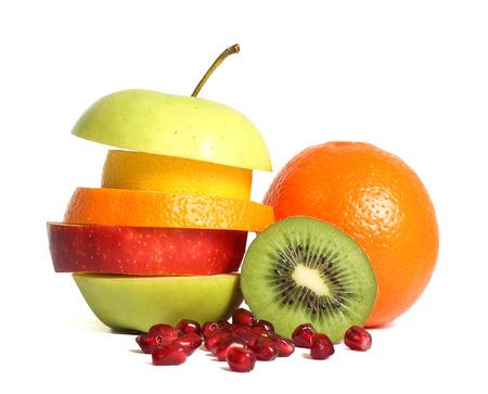 nutrici�n: Dieta de la fruta mezclada fresca