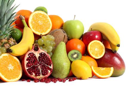 Fruits vitamines Banque d'images