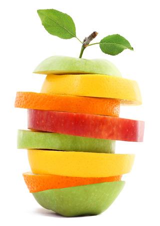 分離されたフルーツ