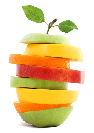healthy life: Fruit isolated