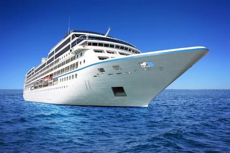 cruiseship: Huge luxury cruise ship