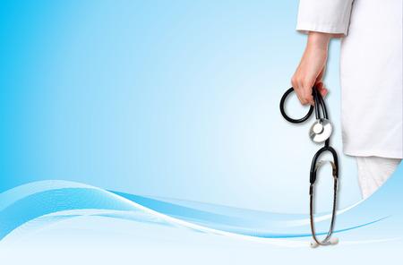 instrumental medico: Doctor con el fondo médico