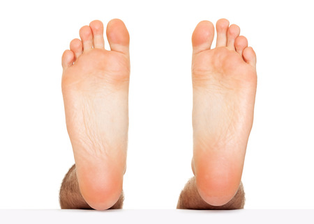 Foot stepping isolated