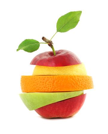 merienda: Mezcla de frutas frescas