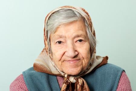 adult 80s: Senior lady portrait grandmother