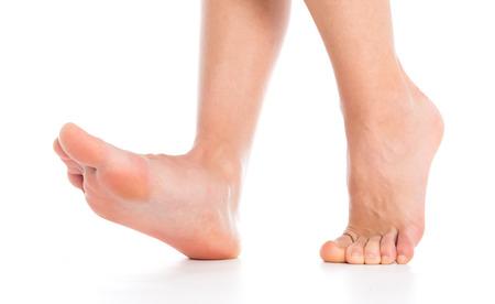 Fuß getrennt