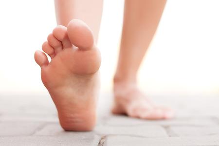 Feet Fuß außerhalb