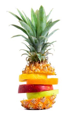 Fresh Mixed Tropical Fruit