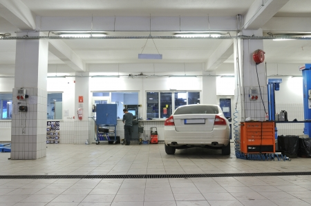 Car repair service, a series of MECHANIC related images