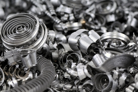 metal cutting: Scrap metal background - a series of METAL INDUSTRY images