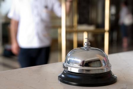 bellhop: El conserje del hotel Foto de archivo